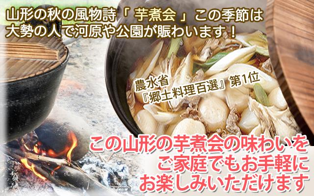 山形のうまいもの 山形 芋煮セット