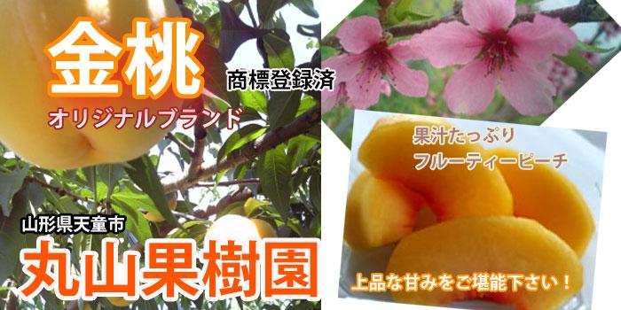 黄金桃 丸山果樹園